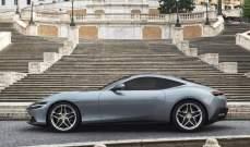 """""""فيراري"""" تكشف عن سيارتها الجديدة """"روما كوبيه"""""""