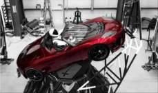ماسك يكشف عن السيارة الكهربائية التي ستنقل إلى الفضاء