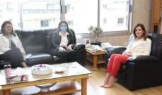 """يمين بحثت مع الأمينة التنفيذية للـ""""إسكوا"""" في آلية خلق فرص عمل للشباب"""