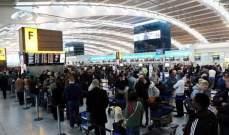 مطار هيثرو لم يعد أكثر المطارات ازدحامًا في أوروبا