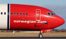 """سهم """"الخطوط الجوية النرويجية"""" يقفز بنحو 49%"""