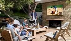 """""""Terrace""""تلفزيونجديد من """"سامسونغ"""" للاستخدام خارج المنزل"""