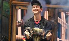 """مراهق يبلغ 16 عاما يربح 3 ملايين دولار لفوزه في لعبة """"فورتنايت"""""""
