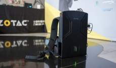 """""""زوتاك"""" الصينية تعرض جهاز ألعاب للارتداء مثل حقيبة ظهر"""