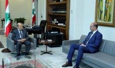 الرئيس عون يعرض مع حسن أزمة الأدوية وسبل معالجتها