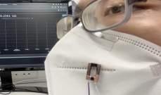 تقنية جديدة لطباعة ألياف إلكترونية لاستشعار أنفاس الإنسان