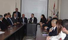 أبو فاعور: وزارة الصناعة تحضّر لمشروع الجودة وسلامة الغذاء