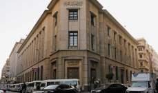 المركزي المصري يطرح أذون خزانة بـ15 مليار جنيه