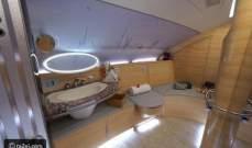 بالصور: ما رأيك بالاستحمام على ارتفاع 30 ألف قدم؟