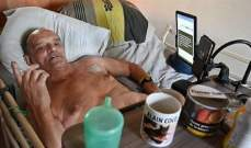 """""""فيسبوك"""" تمنع فرنسياً مصاباً بمرض مستعص من بث ساعاته الأخيرة"""