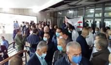 أساتذة اللبنانية يعتصمون لإقرار ملف التفرغ