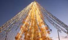 """بـ51626 رسالة من الأطفال... دخلت شجرة ميلادية موسوعة """"غينيس"""""""