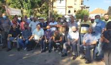 إعتصام لإتحاد نقابات العمال والمستخدمين في الشمال