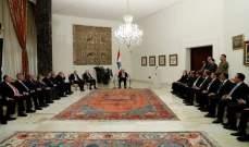 الرئيس عون: مرحلةجديدة بدأت بعد نيل الحكومة الثقة.. وكل من مدّ يده إلى الخزينة سيحاكم