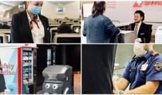 مطار زيوريخ الألماني يستعين بالروبوتات لبيع الكمامات للمسافرين