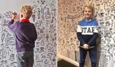 بالصور: مطعم يطلب طفلا يبلغ من العمر 9 سنوات لتزيينه!