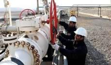 العراق يمد انبوبا نفطيا جديدا من كركوك الى تركيا