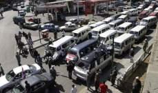 اتحادات النقل البري: للتظاهر والاضراب في 25 الحالي