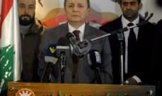 الاسمر بحث الأوضاع الاقتصادية في لبنان مع وفد اتحاد نقابات عمال السويد