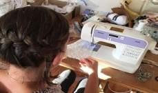 بالصور: صنعت فستان زفافها مجاناً... والطريقة ذكية!