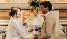 بسبب كورونا... ممرضة وطبيب يتزوجان في المستشفى!