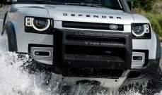 """""""لاند روفر"""" تستعرض نموذجها الجديد من سيارات """"Defender"""""""