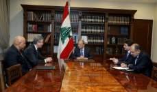 الرئيس عون أكد استمرار عملية مكافحة الفساد وتعزيز الرقابة البرلمانية