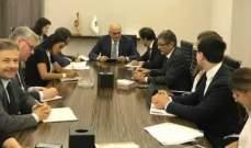 خليل بحث مع وفد البنك الدولي في التقرير حول وضع لبنان النقدي