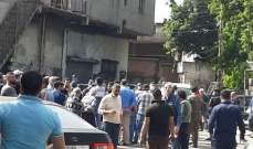 صيدا: إعتصام لاصحاب المحال والعمال في المدينة الصناعية