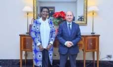 مصر: إتفاق على إيفاد وفد من مستثمريها لأوغندا في الربع الأول من 2019