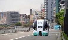 """سيارة هجينة من """"فورد"""" وحافلة ذاتية القيادة في شوارع لندن"""