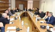 لجنة الاشغال أقرت في جلستها الاخيرة مشاريع قوانين لقروض