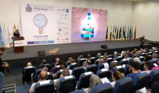"""أبو فاعور خلال حفل تسليم جوائز لمسابقة """"ARAB STUDENT STARPACK 2019"""": الصناعة هي واحدة من الروابط بين العرب"""