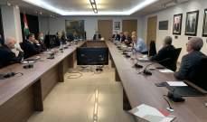 """شقير خلال إجتماع مع """"اليانز سنا"""" للتأمين: الهيئات الإقتصادية هدفها حصول المتضررين على تعويضات مالية عادلة"""