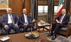بري بحث في الأوضاع المالية مع عضو لجنة الرقابة على المصارف أحمد صفا