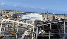 """""""المنطقة الحرة اللوجستية"""" في مرفأ بيروت تنهض من تحت الركام: إنجاز إعادة بناء أول مستودع وإعادته الى العمل"""