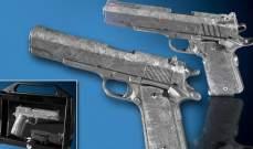 1.5 مليون دولار سعر مسدسين مصنوعين من نيزك فضائي عمره 4.5 مليار سنة!