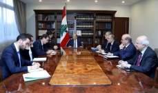 المبعوث الفرنسي للرئيس عون: مستعدون لمساعدة لبنان في الظروف الراهنة