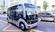 """الصين تستعرض رؤيتها بشأن حافلات آلية تدعم شبكة """"5G"""""""