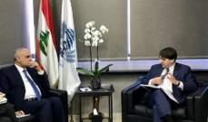 خليل بحث مع رئيس بعثة النقد الدولي الى لبنان تخفيض عجز الموازنة وضرورة العمل على إيجاد إيرادات جديدة للدولة