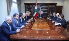 التقرير اليومي 19/11/2019: الرئيس عون: الحكومة الجديدة ستكون سياسية وتضم إختصاصيين وممثلين عن الحراك الشعبي