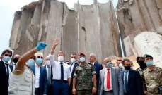 ماكرون من مرفأ بيروت: لا بدّ من إصلاح النظام المصرفي اللبناني