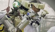 """""""فيودور"""" أول روبوت بشري من صنع روسيا سينزل في محطة الفضاء الدولية"""