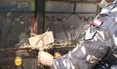 مصلحة الاقتصاد تختم بالشمع الأحمر مصنع تزوير للمنظفات في طاريا البقاعية