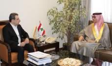 أبو فاعور عرض مع السفير السعودي سبل تفعيل العلاقات الاستثمارية بين البلدين