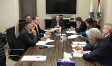 خلية الأزمة الوزارية تعقد أولى اجتماعاتها بمشاركة سلامة وصفير واللواء إبراهيم
