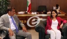 رئيسإتحاد نقابات موظفي المصارف خلال زيارة عبد الصمد: لن نرضى بالتضحيةبأي موظف أو بأي تقاعد مبكر
