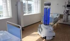 روبوتات ذاتية تستخدم لتطهير غرف المستشفى بالأشعة فوق البنفسجية