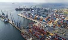 صادرات تجمع تجاري تركي بلغت مليار و218 مليون دولار دولار في 2019