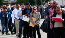 ارتفاع طلبات اعانة البطالة في الولايات المتحدة الى 222 الف طلب في حزيران